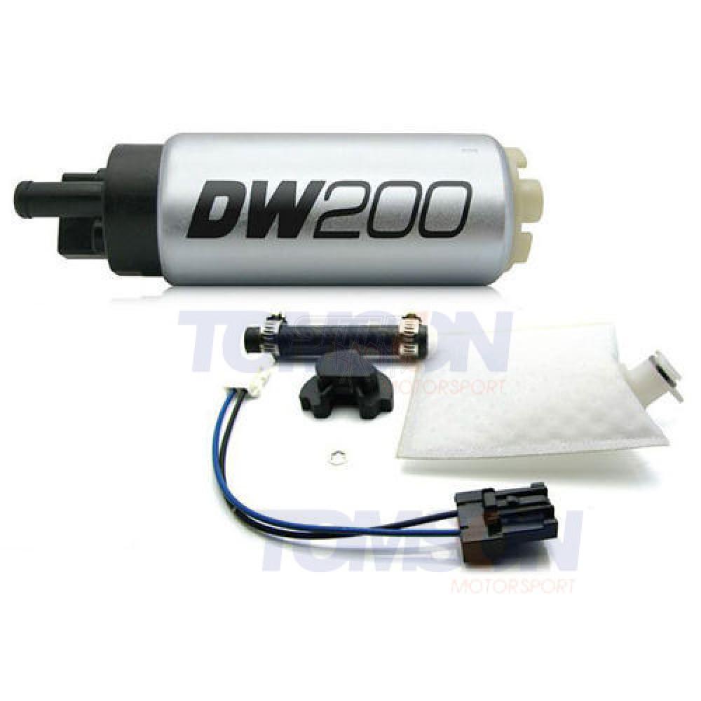 Deatschwerks DW200 255LPH Fuel Pump /& Install Kit 2010-2012 Subaru Legacy GT