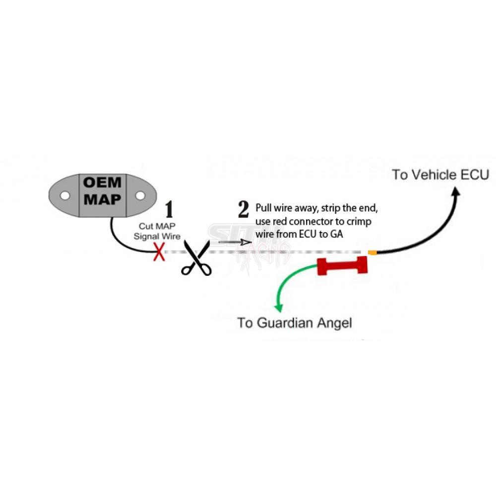 Guardian Angel V3 Overboost Protection w/ 4 Bar MAP Sensor on