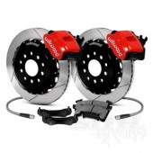 Wilwood Combination Rear Brake Kit (drilled/slotted) 2013 Ford Focus ST