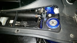 TB Performance Upper strut bar, adjustablity